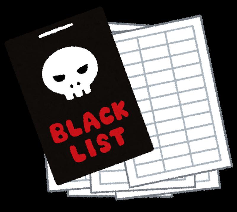 Danh sách đen