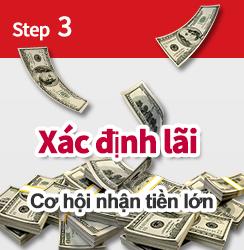 Bước 3 thu lợi nhuận